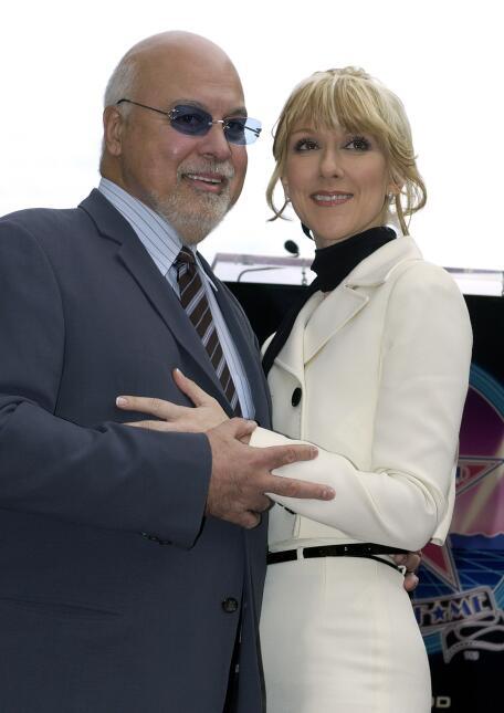 Rene Angelil y Celine Dion