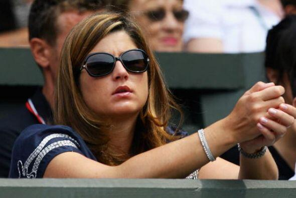 """""""Mirka me cubre las espaldas, se ocupa de todo"""", afirma Roger Federer."""