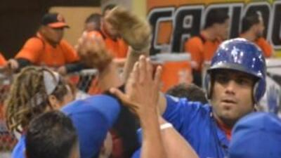 La novena orocoveña, al frente en la serie 2-1, vio detenida su racha de...