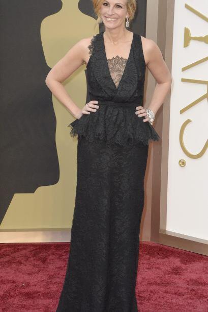 Julia Roberts llega a la 86 ª ceremonia anual de premios de la Academia...