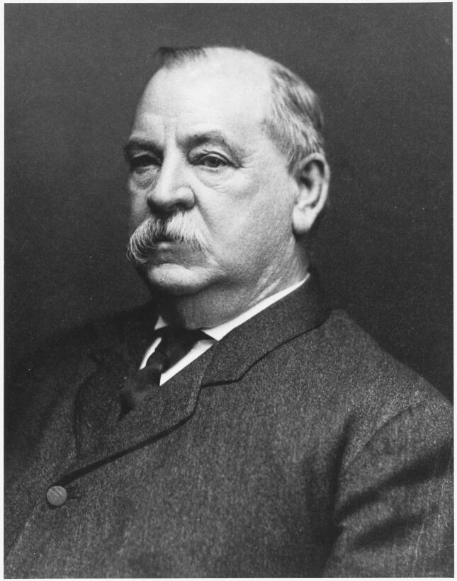 Stephen Grover Cleveland (1837-1908) fue verdugo en dos ocasiones en Nue...