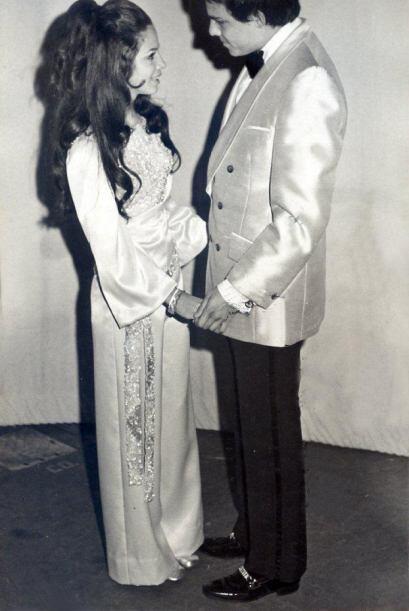 Su hijo Imanol es de su matrimonio con el ejecutivo Topy Mamery.