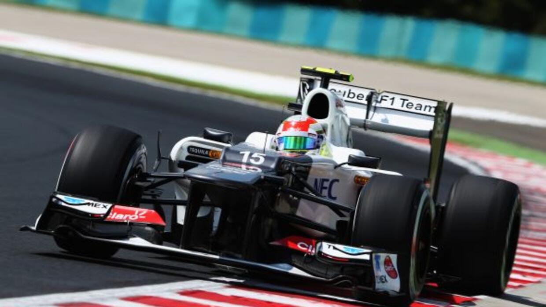 Pérez espera que su auto mejore para la carrera del GP de Hungría.