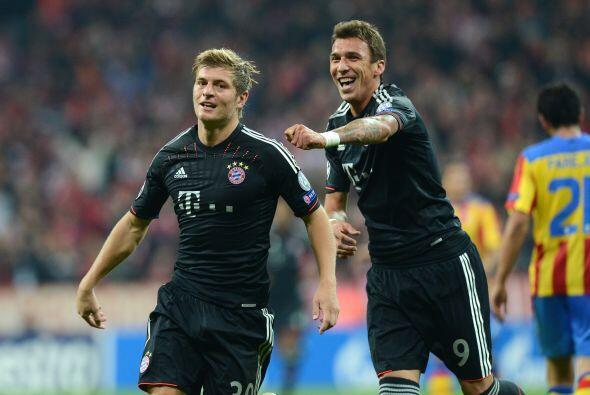 Al minuto 76 fue el turno de Toni Kroos para poner el 2-0.
