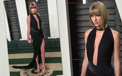 Taylor Swift la más sexy de Vanity Fair Oscar Party