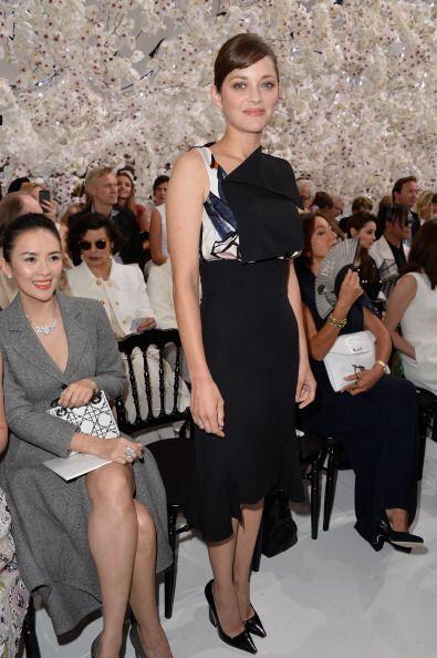La que tampoco se perdió a Dior y asistió muy 'chic' a su...