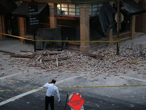Sismo de 6.0 de magnitud se reportó esta madrugada en el Valle de...