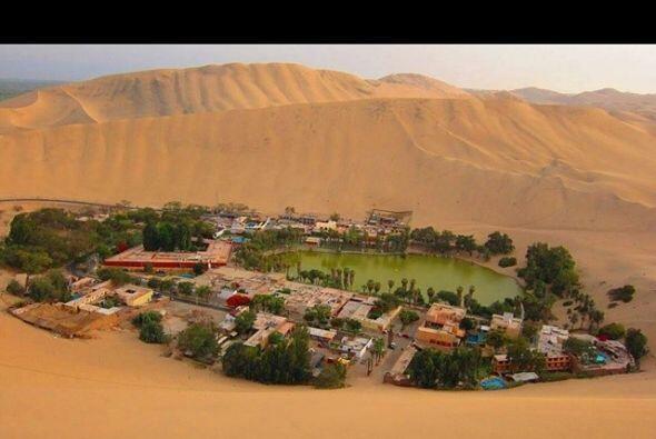 Huacachina, desierto Peruano   Huachachina es un pueblo pequeño d...