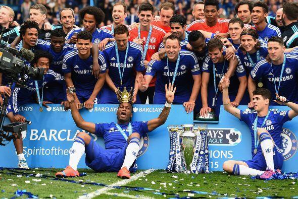 El Chelsea se convirtió en campeón de la Premier League de Inglaterra al...