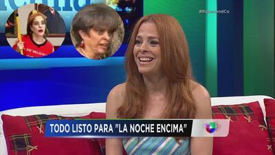 Suzette Bacó revive a Doña Soto y Vicky en La Noche Encima