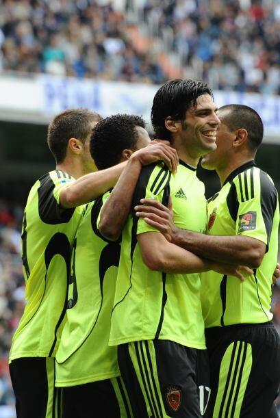 El atacante del Zaragoza tuvo el partido de su vida ante el Real Madrid,...