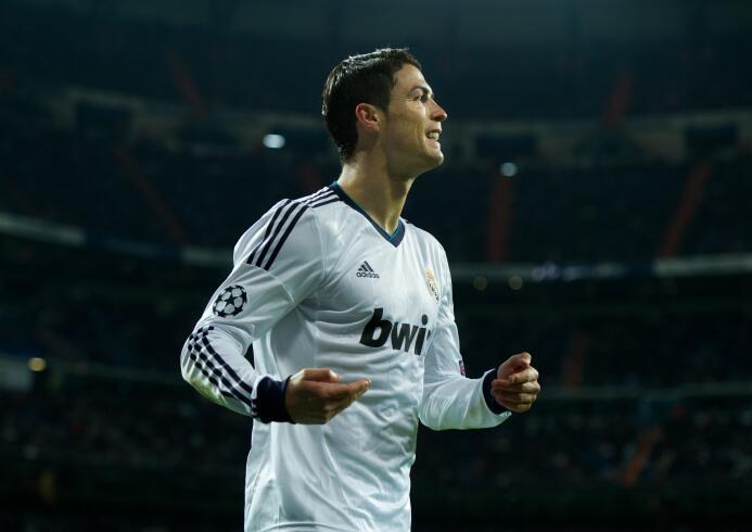 Temporada 2012/2013 - Cristiano Ronaldo (Real Madrid C.F.) con 12 goles.