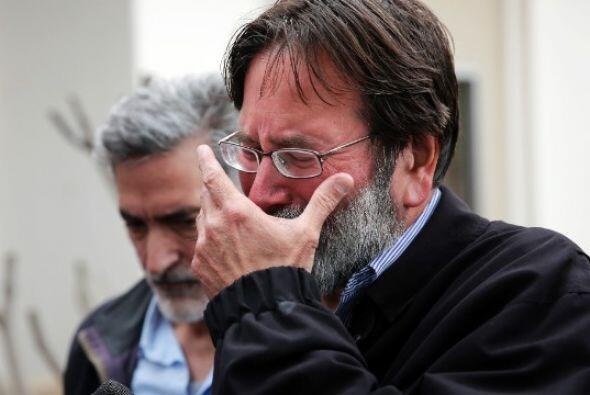 Richard Martinez progenitor del estudiante declaró que la muerte...
