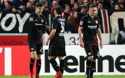 Bayer Leverkusen ganó en visita al Stuttgart