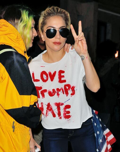Lady Gaga Trump
