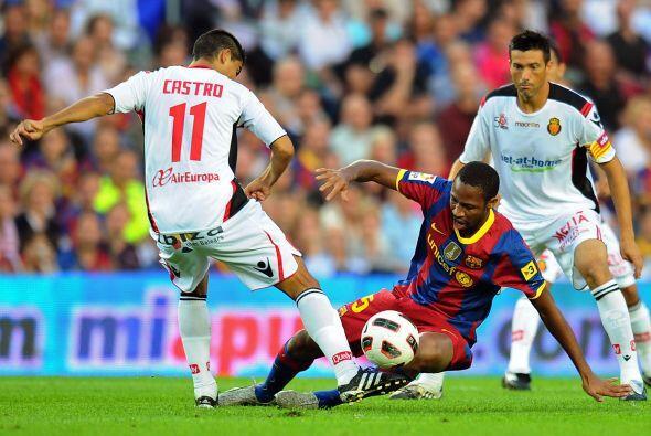 Antes de esto, el Barcelona fue local ante el siempre difícil Mallorca.