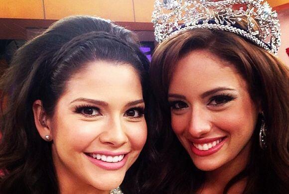 """""""Nuestra nueva reina @AleydaOrtiz"""", mostró Ana. (Mayo 19, 2014)"""