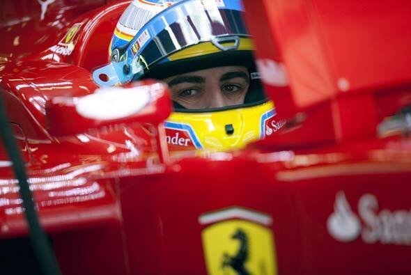 Alonso estaba listo para dar un gran espectáculo a sus compatriotas.