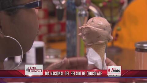 Día nacional del helado de chocolate