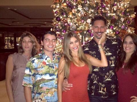 La colombiana pasó una Navidad llena de amor junto a su familia,...