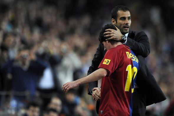 Un momento que muchos recordarán fue cuando Guardiola engrandeció a Mess...