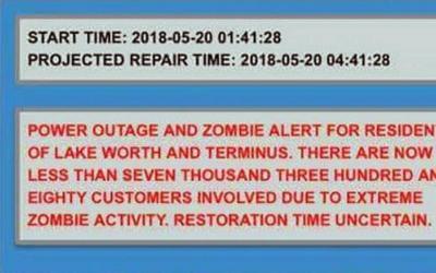 """La falsa alerta que recibieron en Lake Worth por """"extrema actividad..."""