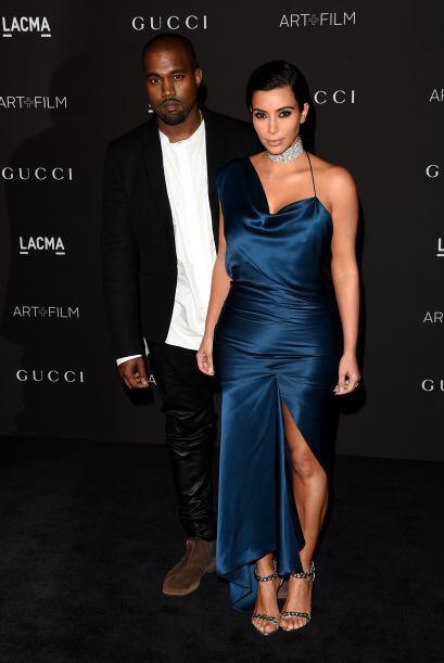 Kim y Kanye se presentaron en la 2014 LACMA Art+Film Gala en Los Ángeles.
