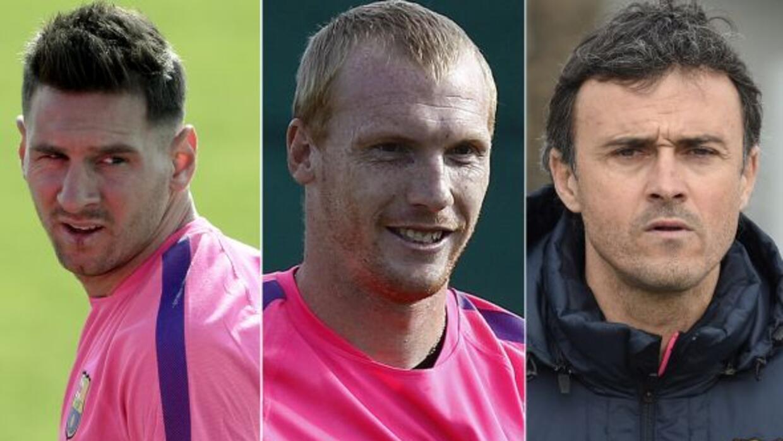 El francés aceptó que Lionel y el técnico de los 'blaugranas' se hiciero...