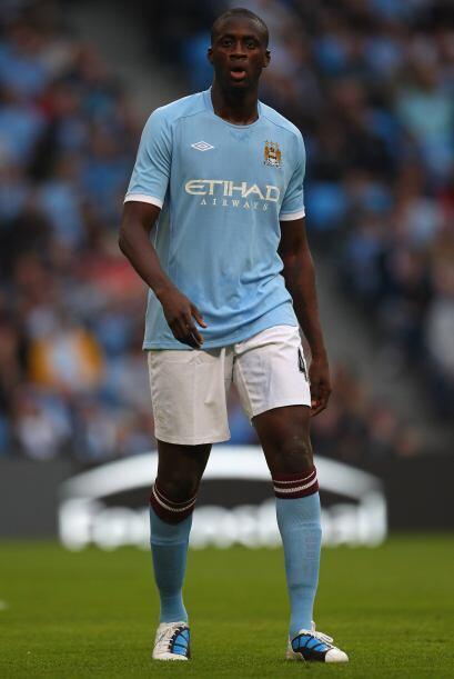 Touré hizo lo necesario para salir del club, a pesar de que todos los ve...