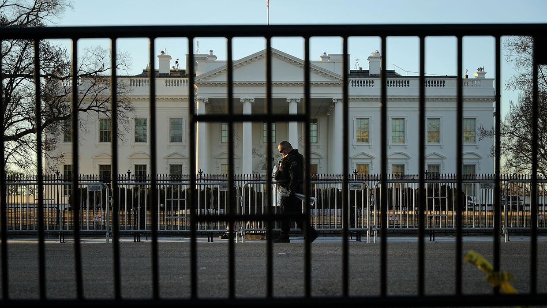 La Casa Blanca este sábado.
