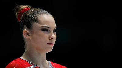La atleta estadounidense McKayla Maroney.