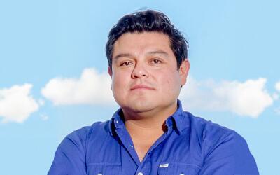 Manolo Díaz aprendió a programar por su cuenta cuando ten&...