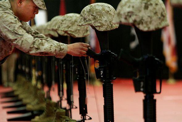A título de comparación, 58,000 soldados norteamericanos murieron durant...