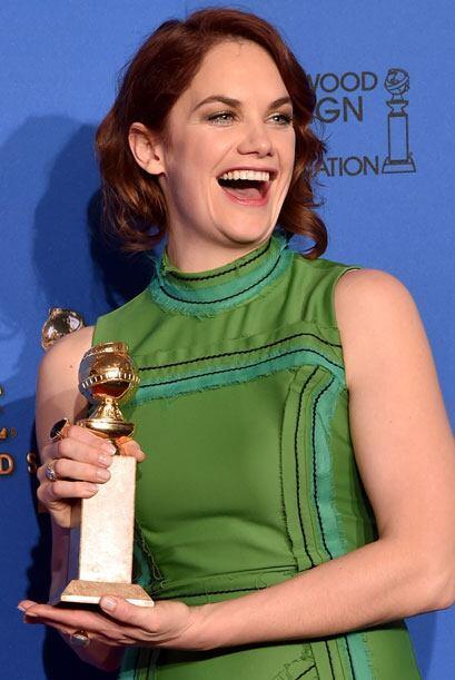 Ruth Wilson fue llamada Mejor Actriz en Drama - TV, por 'The Affair'.