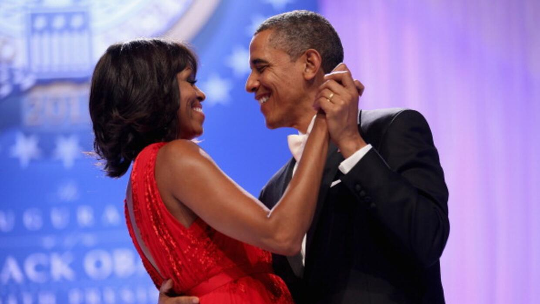 barack y michelle obama bailando