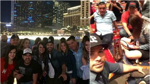 El grupo La Leyenda se encontraba en Las Vegas justo cuando sucedió el t...