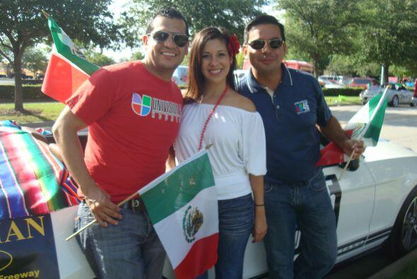 Así que la estación estuvo muy bien representada por Felipe Valenzuela,...