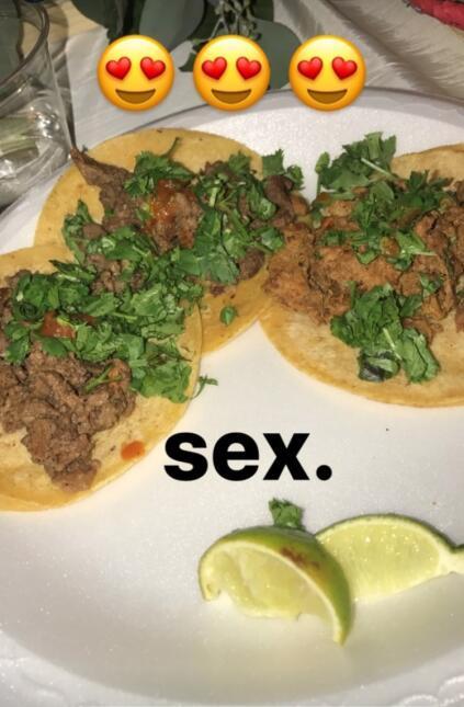 Tacos en boda de Juan