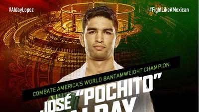 José 'El Pochito' Alday, primer campeón en la historia de Combate Américas