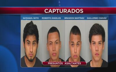 Detenidos por asaltar a agente encubierto