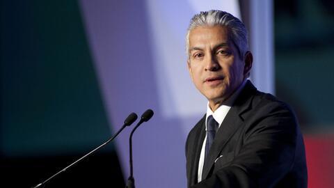 Javier Palomarez en un evento político.