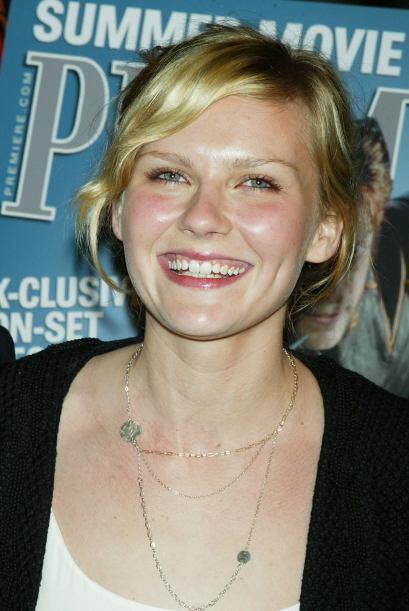Kirsten Dunst  inició en el medio a una muy corta edad y con una sonrisa...