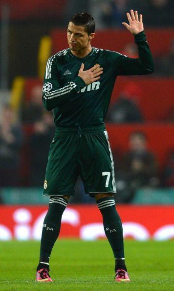 Cristiano agradeció el apoyo de corazón.