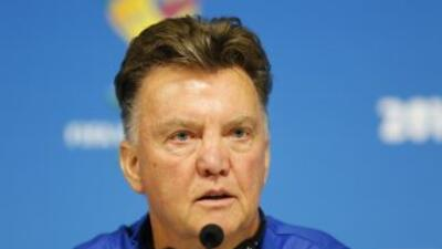 Louis Van Gaal considera que a Messi le ha costado trabajo mostrarse con...