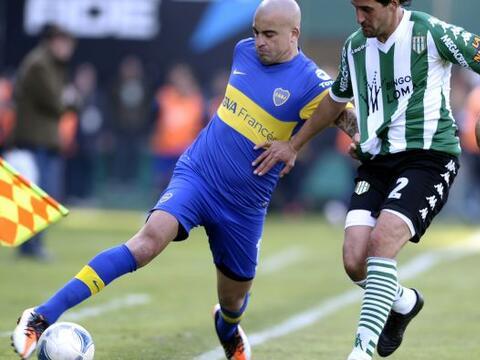 Con un cuadro titular, el Boca Juniors no pudo más que sacar el e...