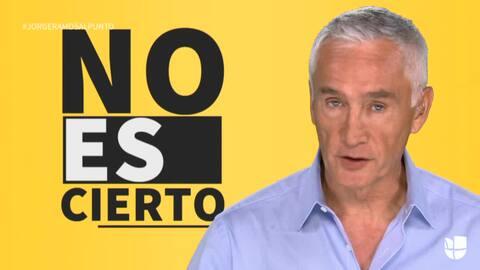 """Jorge Ramos: """"Un muro en la frontera no va a detener todas las drogas qu..."""