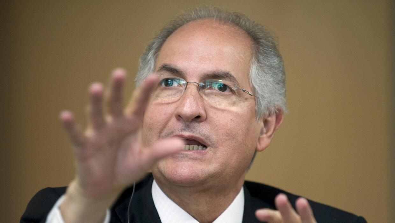 Antonio Ledezma, alcalde de Caracas.