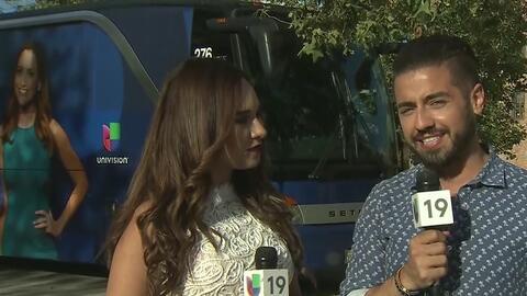 Borja Voces recibió el cariño de sus fans en Sacramento