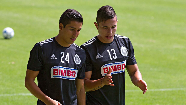 Carlos Cisneros y Carlos Salcedo