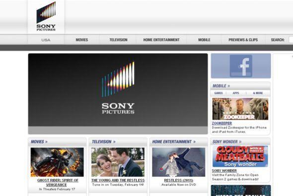 SONY PICTURES- Sony, compañía enfocada principalmente en l...